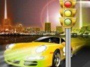 Dirijeaza traficul masinilor din New York