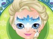 Baby Frozen desene pe fata