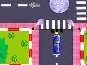 Condu masina in oras si parcheaza